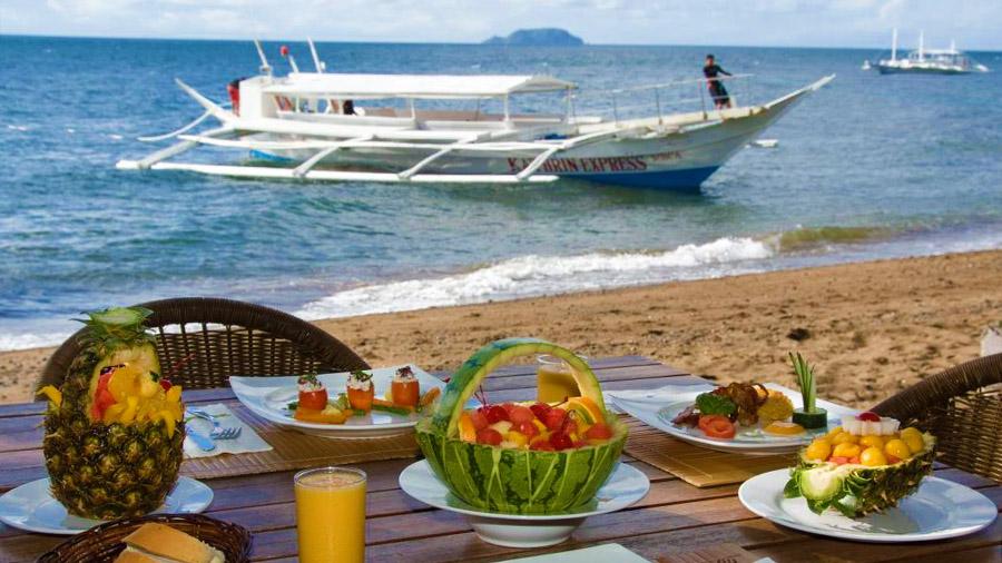 Atlantis Dive Resort Dumaguete beach view