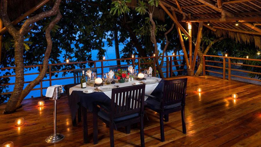 Atmosphere Resorts & Spa rastaurant