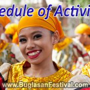 Buglasan Festival 2017 schedule of activities
