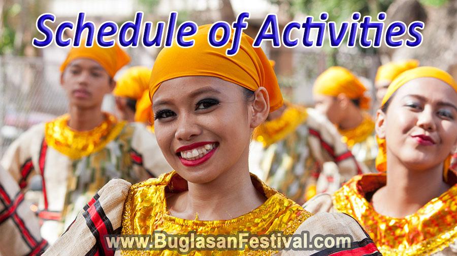 Buglasan Festival 2017 schedule of activities