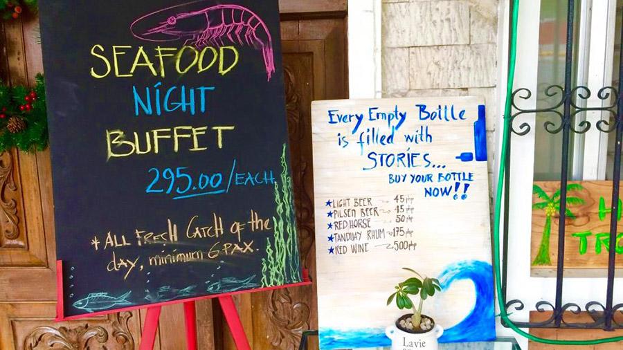 HOSTEL Tropical - buffet
