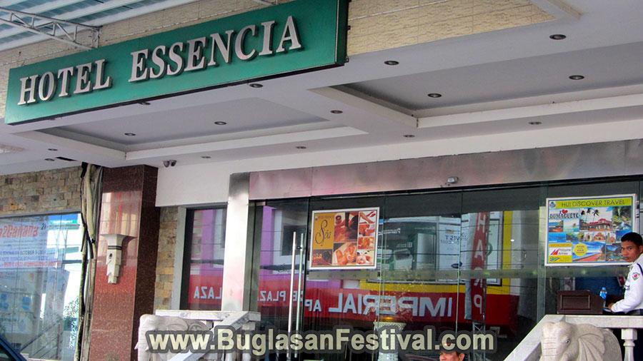 Hotel Essencia-Dumageute entrance