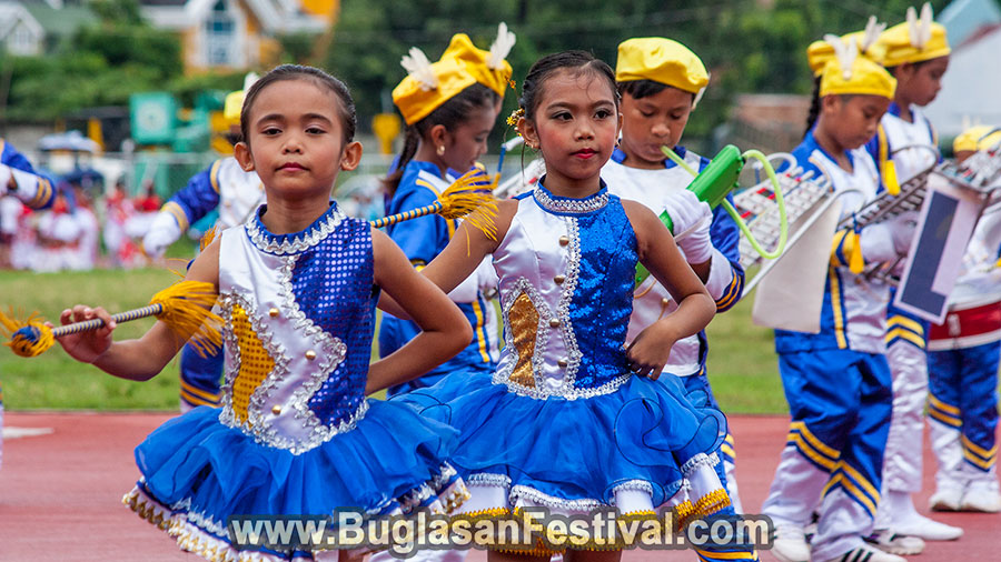 Buglasan Festival 2017 Elementary Marching Band