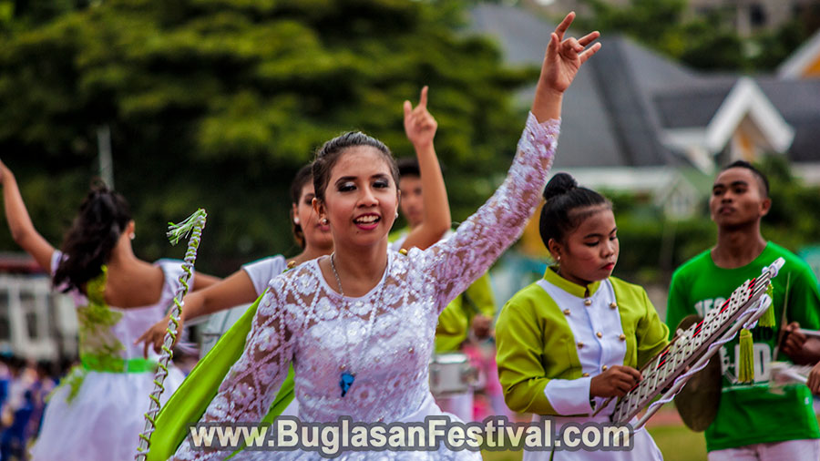 Buglasan Festival 2017 -High School Marching Band Competition