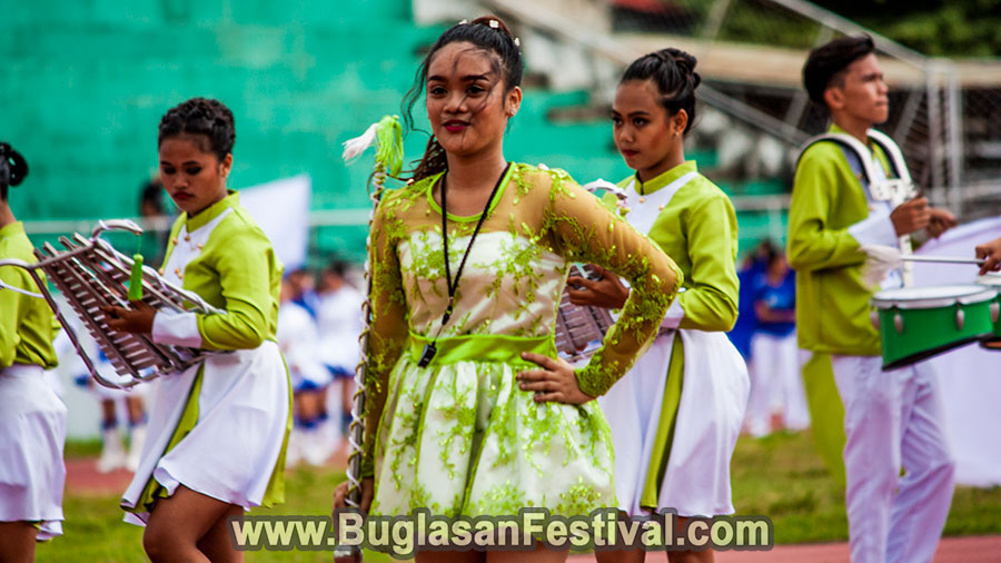 Buglasan Festival 2017- High School Marching Band Competition
