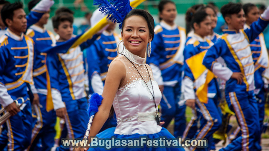 High School Marching Band Competition -Buglasan Festival 2017
