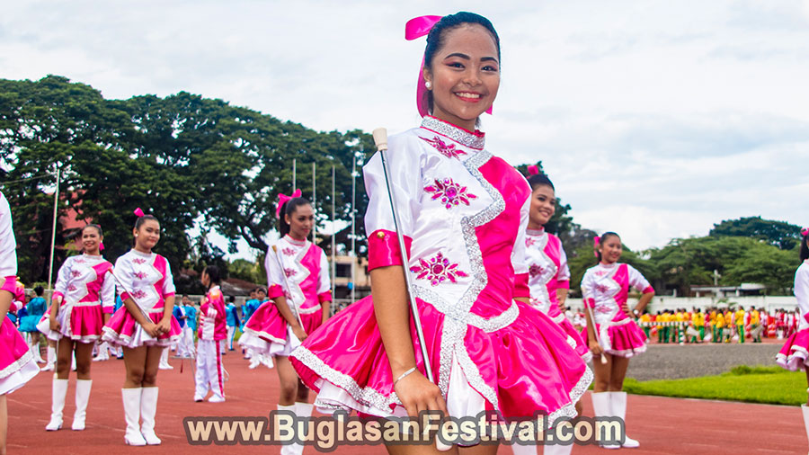 High School Marching Band Competition Buglasan Festival 2017