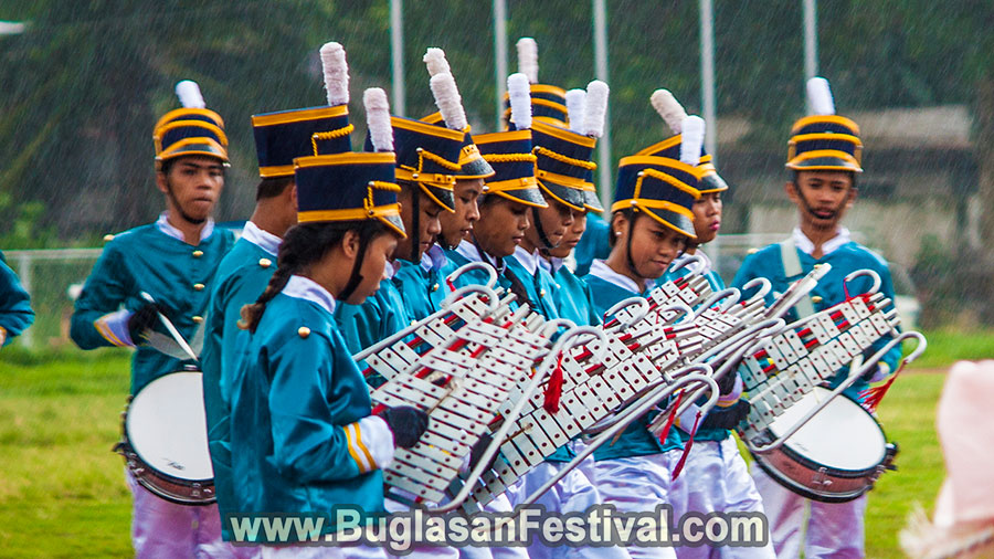 High School Marching Band Competition - Buglasan Festival 2017