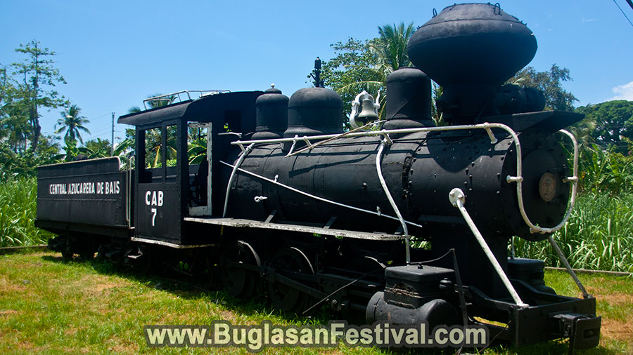 Bais City - Tourist Spots - Old Locomotive - Old Train