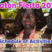Siaton Fiesta 2017 - Schedule of Activities