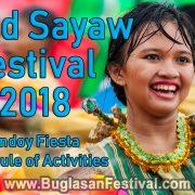 Libod Sayaw Festival 2018 - Schedule of Activities