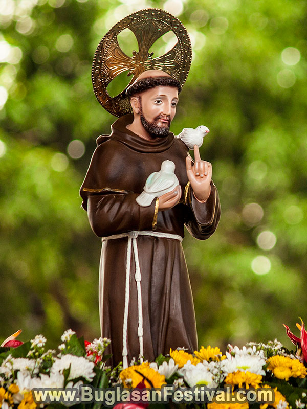 Mantuod Festival - Patron Saint Francis of Assisi - Negros Oriental