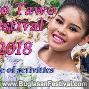 Tawo Tawo Festival 2018-Schedule of Activities - Bayawan