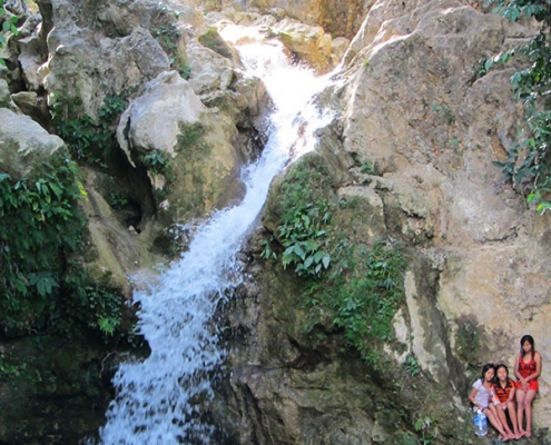 Makatang Falls in Guihulngan City