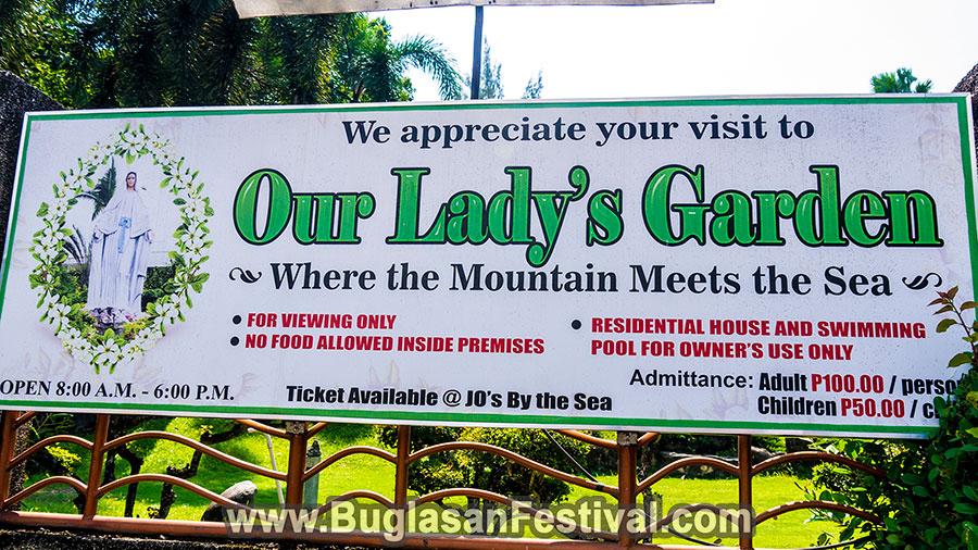 Sibulan - Negros Oriental - Mama Mary Our Lady's Graden
