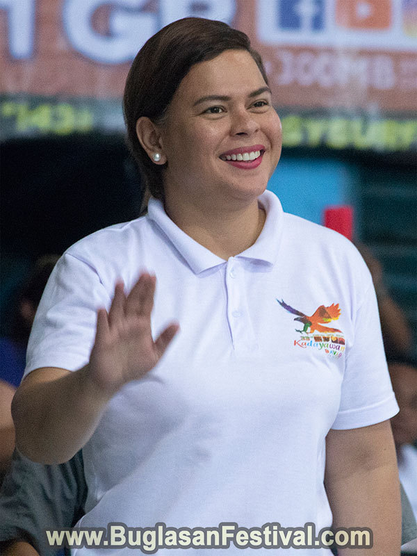 Buglasan Festival 2018 - Showdown VIP - Sara Zimmerman Duterte-Carpio
