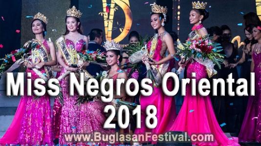 Miss Negros Oriental 2018