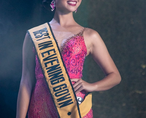 Miss Negros Oriental 2018 - Evening Gown - Dumaguete City