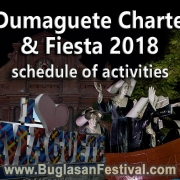 70th Dumaguete Charter Day and Fiesta 2018