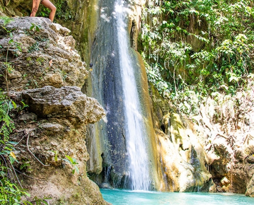 Vallehermoso - Negros Oriental - Sayaw Enchanted Waterfalls