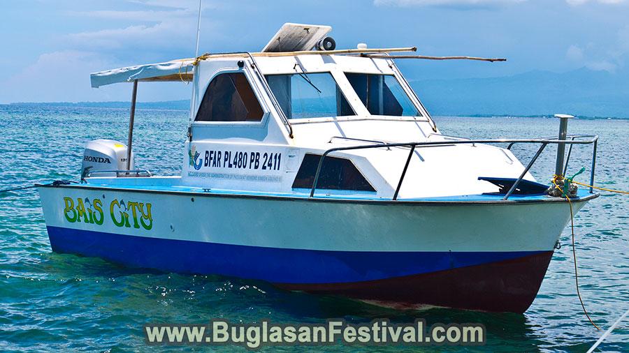 Dolphin Watchin in Bais City - Boat Ride