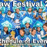Kapaw Festival 2019 - Schedule of Events - Basay
