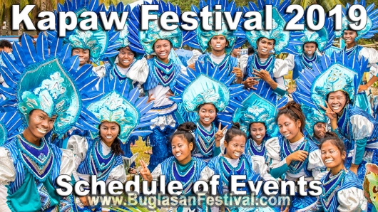 Kapaw Festival 2019 – Schedule of Events