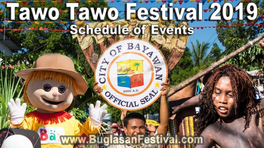 Tawo Tawo Festival 2019 – Schedule of Events