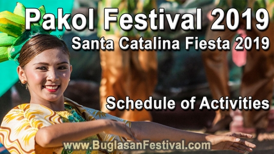 Santa Catalina Fiesta 2019 – Schedule of Activities
