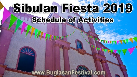 Sibulan Fiesta 2019 – Schedule of Activities