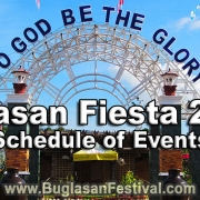 Tayasan Fiesta 2019 - Schedule of Events