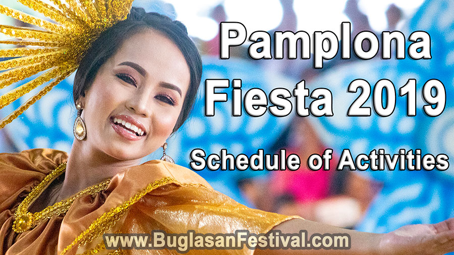 Pamplona Fiesta 2019 - Schedule of Activities - Negros Oriental