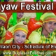 Pasayaw Festival 2020 - Canlaon City - Schedule of Events
