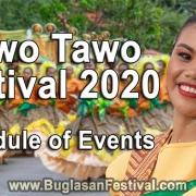 Tawo Tawo Festival 2020 – Schedule of Events - Bayawan City